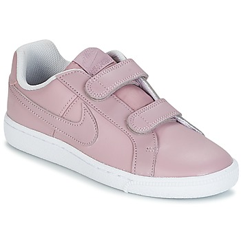 Sko Pige Lave sneakers Nike COURT ROYALE CADET Pink