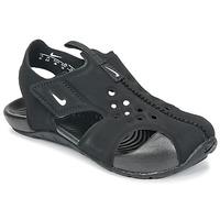 Sko Børn Sandaler Nike SUNRAY PROTECT 2 TODDLER Sort / Hvid