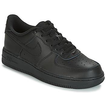 Sko Børn Lave sneakers Nike AIR FORCE 1 CADET Sort