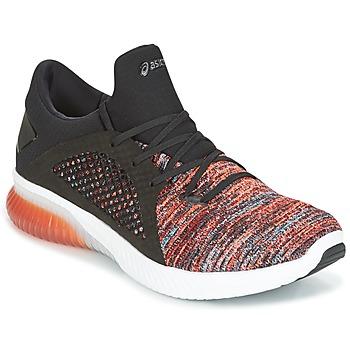 Sko Herre Lave sneakers Asics KENUN KNIT Orange / Sort
