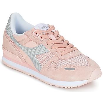 Sko Dame Lave sneakers Diadora TITAN II W Pink