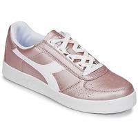 Sko Dame Lave sneakers Diadora B ELITE I METALLIC WN Bronze