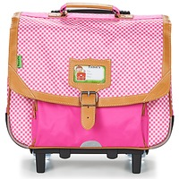 Tasker Pige Rygsække / skoletasker med hjul Tann's LES CHICS FILLES TROLLEY CARTABLE 38CM Pink
