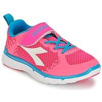 Sko Pige Lave sneakers Diadora NJ-303-1 JR Pink