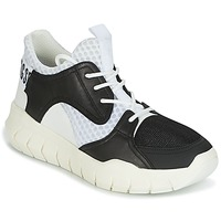 Sko Herre Lave sneakers Bikkembergs FIGHTER 2022 LEATHER Sort / Hvid