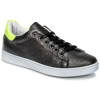 Sko Børn Lave sneakers Young Elegant People EDENI Sort / Gul / Fluo