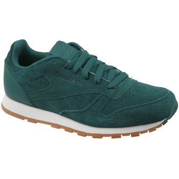 Sko Børn Lave sneakers Reebok Sport CL Leather SG CM9079 Green