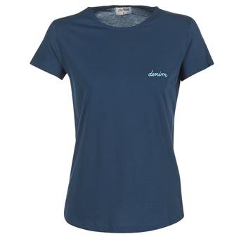 textil Dame T-shirts m. korte ærmer Yurban IHOULOU Marineblå