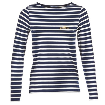 textil Dame Langærmede T-shirts Betty London IFLIGEME Marineblå / Hvid