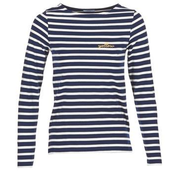textil Dame Langærmede T-shirts Betty London FLIGEME Marineblå / Hvid