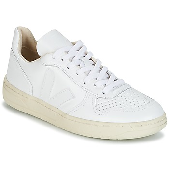Sko Lave sneakers Veja V-10 Hvid