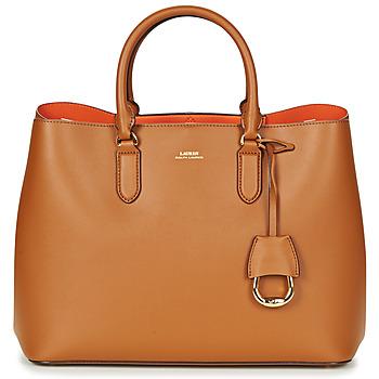 Tasker Dame Håndtasker m. kort hank Ralph Lauren DRYDEN MARCY TOTE Cognac / Orange