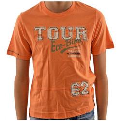 textil Børn T-shirts m. korte ærmer Diadora  Orange