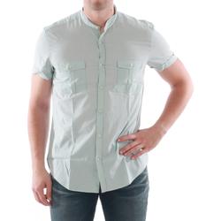 textil Herre Skjorter m. korte ærmer Antony Morato AMT05211 Verde claro