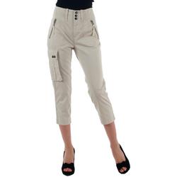 textil Dame Halvlange bukser Diesel DSL00013 Blanco roto