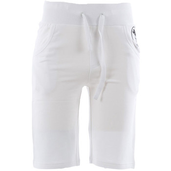 textil Herre Shorts Frankie Garage FGE02051 Blanco