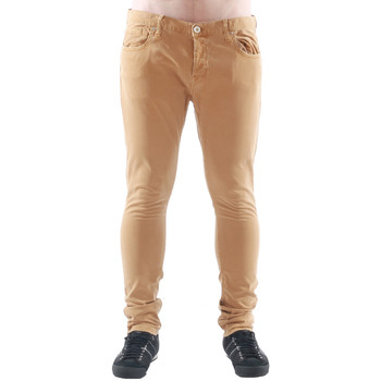textil Herre Jeans - skinny Freesoul DRAKE CATO SENAPE Beige