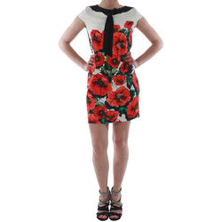 textil Dame Korte kjoler Rinascimento 1253/16A_ROSSO Blanco