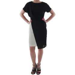 textil Dame Korte kjoler Rinascimento MIRANDA_BIANCO Negro