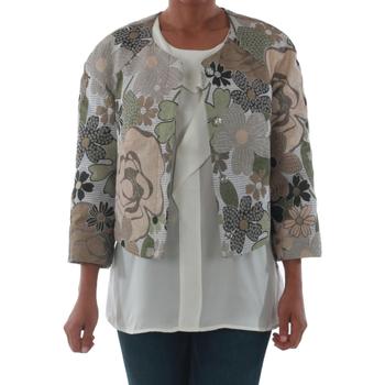 textil Dame Jakker / Blazere Rinascimento 82012_VERDE Verde