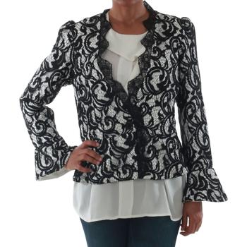 textil Dame Jakker / Blazere Rinascimento 7643_BIANCO Blanco