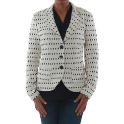 textil Dame Jakker / Blazere Rinascimento 182023_BIANCO Blanco roto