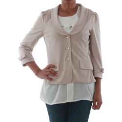 textil Dame Jakker / Blazere Rinascimento 1022_BEIGE Beige