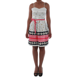 textil Dame Korte kjoler Rinascimento 1384/16M_FUXIA Blanco