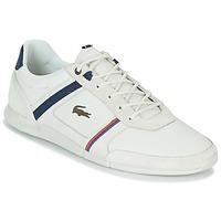 Sko Herre Lave sneakers Lacoste MENERVA 118 1 Hvid