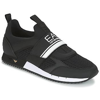 Sko Herre Lave sneakers Emporio Armani EA7 BLACK & WHITE U Sort