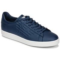 Sko Herre Lave sneakers Emporio Armani EA7 CLASSIC U Blå