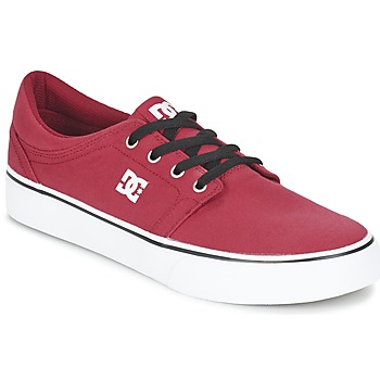 Sko Herre Lave sneakers DC Shoes TRASE TX MEN Rød / Sort