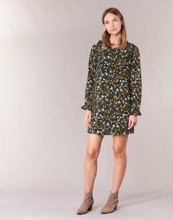 textil Dame Korte kjoler Betty London HOTU Sort / Flerfarvet