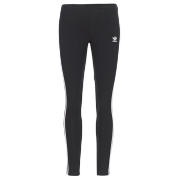 textil Dame Leggings adidas Originals 3 STR TIGHT Sort