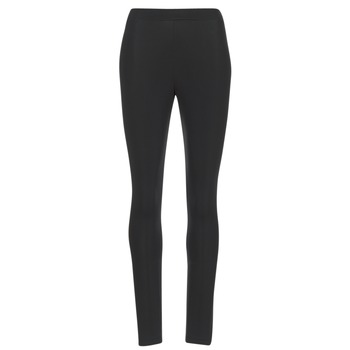 textil Dame Leggings adidas Originals TREFOIL TIGHT Sort