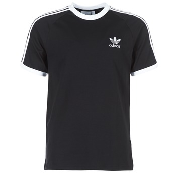 textil Herre T-shirts m. korte ærmer adidas Originals 3 STRIPES TEE Sort