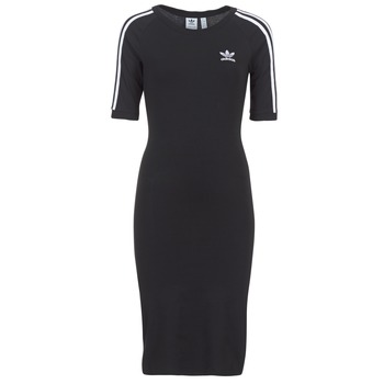 textil Dame Korte kjoler adidas Originals 4 STRIPES DRESS Sort