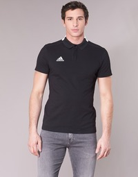 textil Herre Polo-t-shirts m. korte ærmer adidas Performance CON18 CO POLO Sort