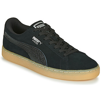Sko Dame Lave sneakers Puma SUEDE CLASSIC BUBBLE W'S Marineblå