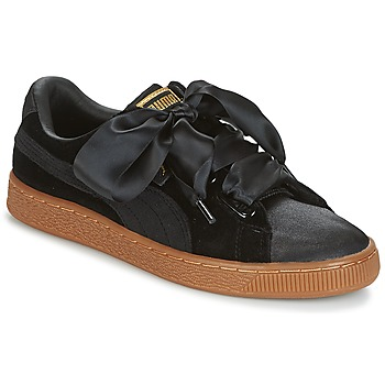 Sko Dame Lave sneakers Puma BASKET HEART VS W'N Sort