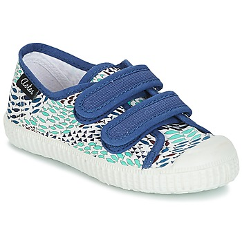 Sko Dreng Lave sneakers Aster MICKY Hvid / Blå