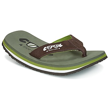 Sko Herre klipklapper  Cool shoe ORIGINAL Kaki / Brun