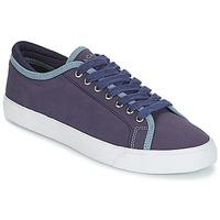 Sko Herre Lave sneakers Hackett MR CLASSIC PLIMSOLE Marineblå