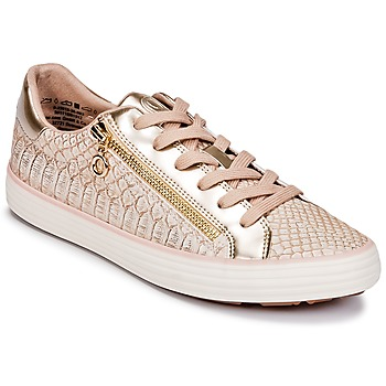 Sko Dame Lave sneakers S.Oliver BOOMBO Pink / Guld