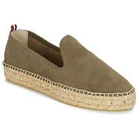 Sko Dame Espadriller 1789 Cala SLIP ON DOUBLE LEATHER Kaki