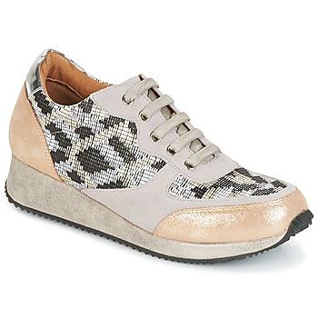 Sko Dame Lave sneakers Karston SEMIR Beige / Guld