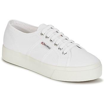 Sko Dame Lave sneakers Superga 2730 COTU Hvid