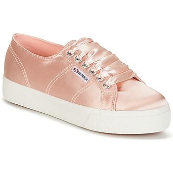 Sko Dame Lave sneakers Superga 2730 SATIN W Pink