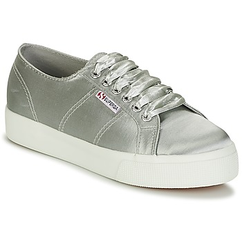 Sko Dame Lave sneakers Superga 2730 SATIN W Grå
