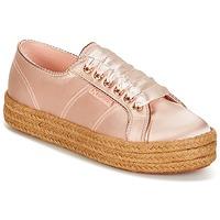 Sko Dame Lave sneakers Superga 2730 SATIN COTMETROPE W Pink